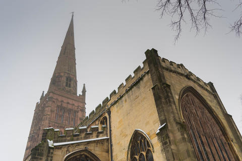 Holl Trinity Church, Broadgate, Coventry, England フォト