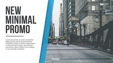 Minimal Promo After Effects templates