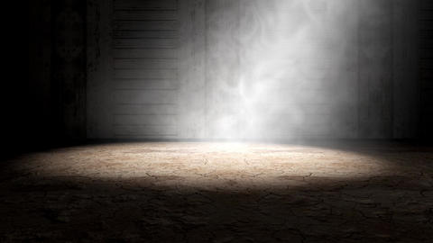 Smoke and fog indoor scene Animation