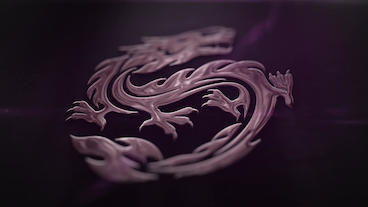 Reflection Logo Glossy Plantilla de After Effects