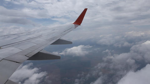 Aerial view of clouds 画像