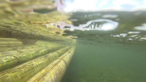 Bamboo rafting in Khao Lak 영상물