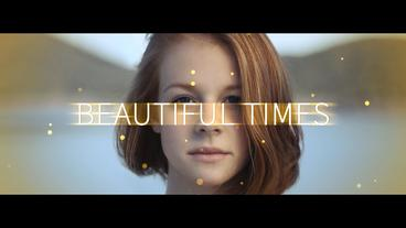 Beautiful Times After Effects Template