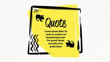 Quote Titles Premiere Proテンプレート