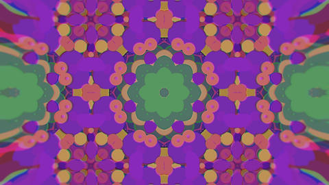 Abstract Colorful Painted Kaleidoscopic Graphic Background. Futuristic フォト