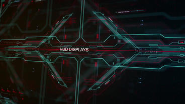 Hud Displays and Elements After Effects Template