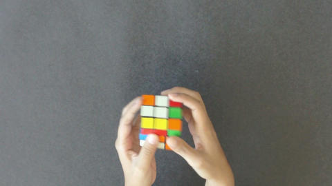 Rubik's Cube Stock Video Footage