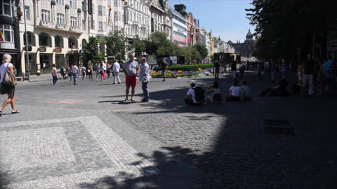 Prague Street 5 Stock Video Footage