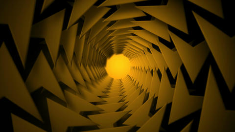 arrow tunnel Animation