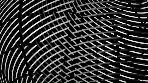 sphere print Stock Video Footage