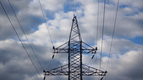 Energy Power Line Stock Video Footage