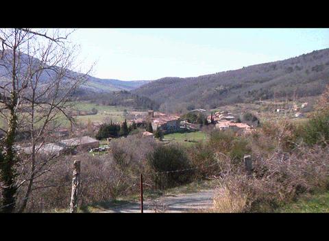 Bugarach Village Footage