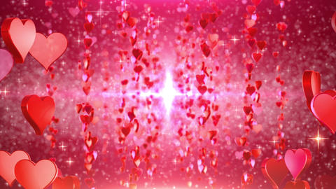 heart particule line 01C Animation