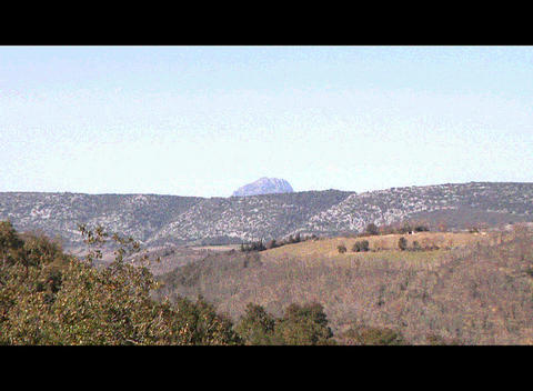Bugarach Montain Stock Video Footage