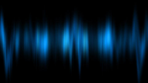 Abstract animation of digital audio histogram Animation