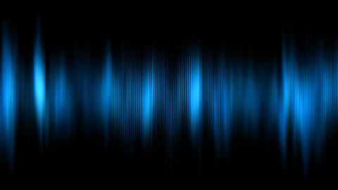 Abstract animation of digital audio histogram Stock Video Footage