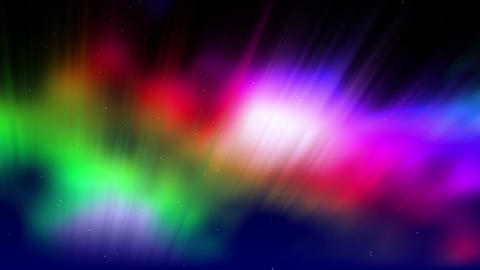 Shimmering Aurora Stock Video Footage
