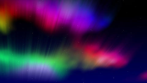 Shimmering Aurora Stock Video Footage
