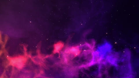Nebula Journey stock footage