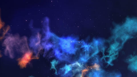 Nebula Journey Stock Video Footage