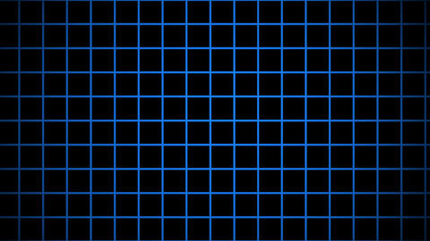 blue grid Animation