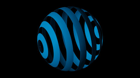 globe blue Animation