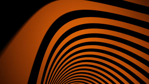 orange curve Animation