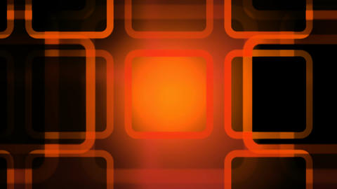 orange outlines Animation