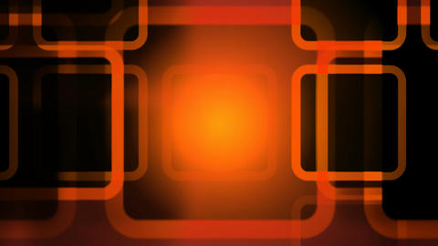 orange outlines Stock Video Footage