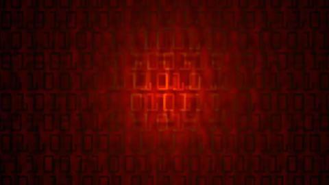binnary numbers Stock Video Footage