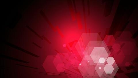 hexagon shine Stock Video Footage