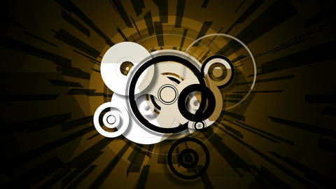 radial circle Stock Video Footage