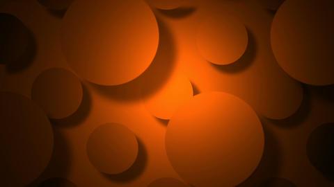 orange circle Stock Video Footage
