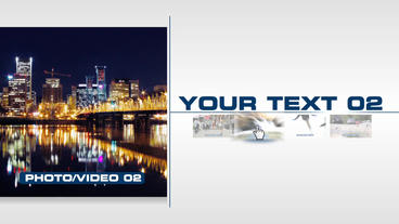 Corporate Presentation - After Effects Template After Effects Template
