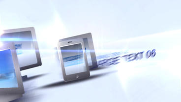 Multi Devices 30s Commercial - After Effects Template After Effects Template