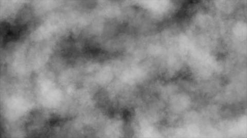 Cloud Flythrough Stock Video Footage