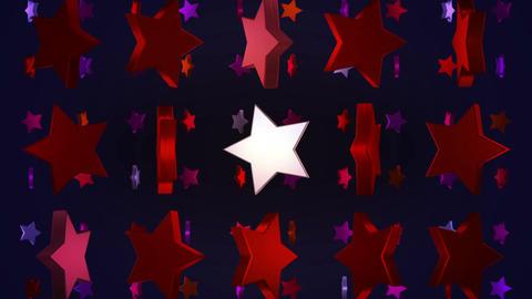 star 3d BG 01 C Stock Video Footage