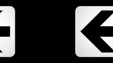 arrow box Stock Video Footage