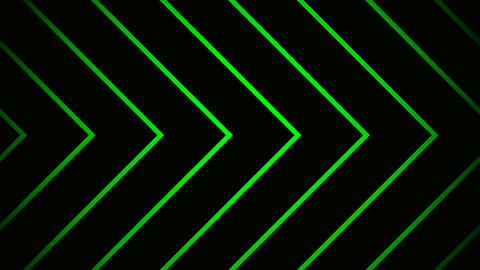 green line Animation