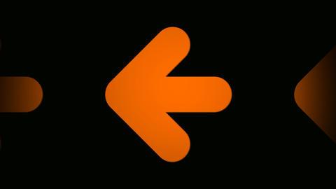 orange arrow Animation