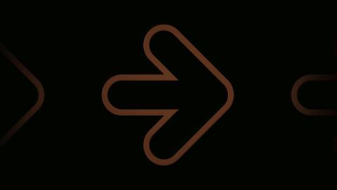 brown arrow Stock Video Footage