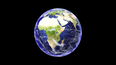 The Earth stock footage