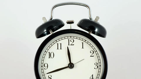Alarm Clock In Motion Stock Video Footage