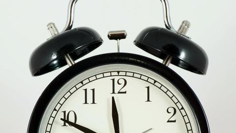 Alarm Clock In Motion Footage