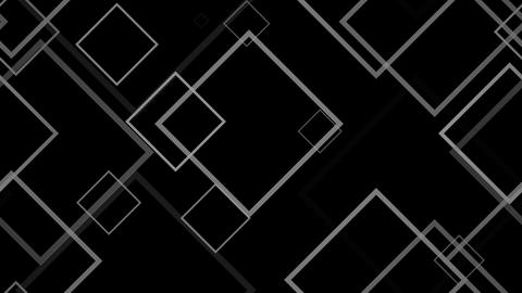 outline squares Animation