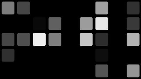 roundness mosaic Animation