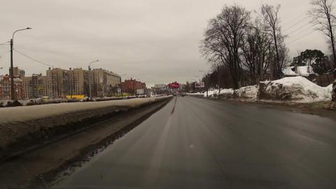 Journey on high speed Footage