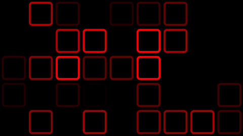 red outline Stock Video Footage