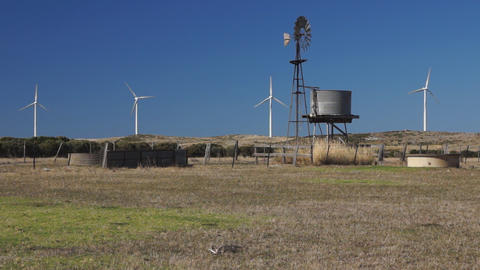 Wind Generators Stock Video Footage