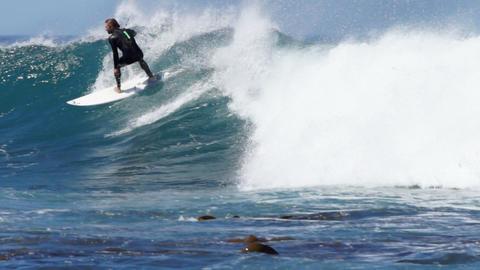 Surfer Footage